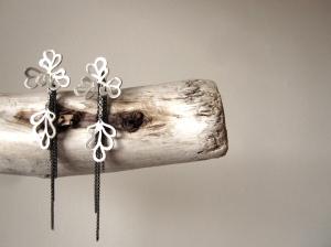 BIg Flowers Earrings